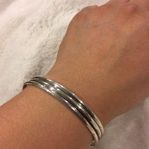 Jewelry - Sterling Silver modernist Bracelet cuff